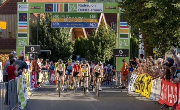 1. Radjugendtour Oststeiermark; 3. Etappe am 6. August 2016 von Miesenbach nach Vorau Stift über 72 Kilometer