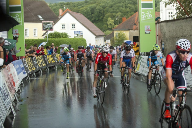 1. Radjugendtour Oststeiermark. 2. Etappe von Fürstenfeld nach Pöllau über 65,8 Kilometer am 5. August 2016.